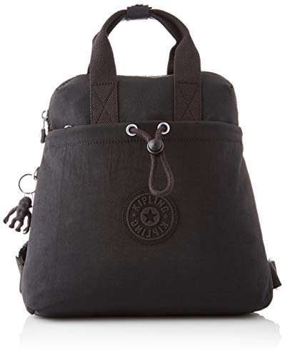 Kipling GOYO Mini, Backpacks para Mujer, Color Negro, 11x27x27.5 cm (LxWxH)