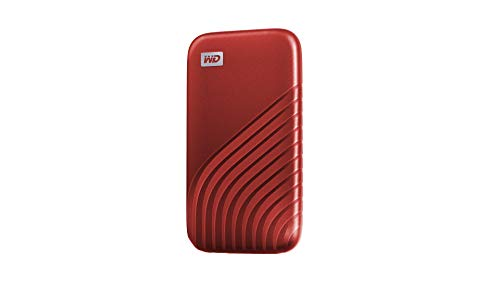 western digital my passport ssds WD 2TB My Passport SSD External Portable Solid State Drive, Red, Up to 1,050 MB/s, USB 3.2 Gen-2 and USB-C Compatible (USB-A for Older Systems) - WDBAGF0020BRD-WESN