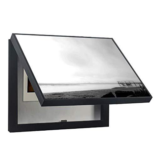 SHANCL Minimalista Moderno Paisaje Caja de Medidor Pintura Decorativa Sala de Estar Porche Caja de Distribución Caja de Oclusión Caja de Bloqueo Eléctrico Cuadro de Interruptor Pintura