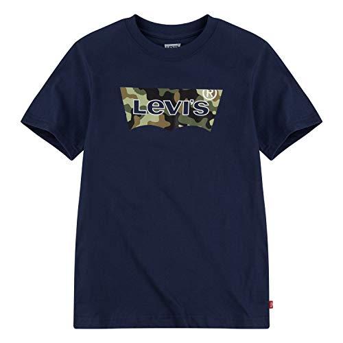 Levi's Jungen Batwing T-Shirt, Dress Blues, 3 Jahre