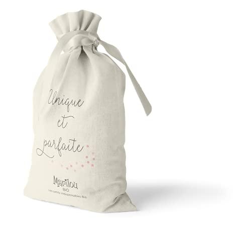 Marilou Bio - Pochon Unique et Parfaite pour Soin Visage et Mains - Crème de Jour Classic 30ml - Crème Mains Classic 75ml - Lotion Tonique 100ml - Produits de Visage pour Tous Types de Peaux
