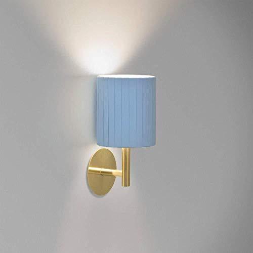 Wandlampen, wandlampen, wandlampen, wandlampen, eenvoudige woonkamerlamp, luxe stoffen kap, nachtoog/goud/zwart en witgoud.