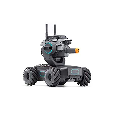 DJI RoboMaster S1 – Educational Robot STEM Programmable Science Learning Mini Car Remote Control Intelligent AI Scratch…