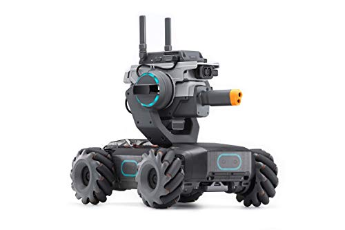 DJI RoboMaster S1 - Educational Robot STEM Programmable Science Learning Mini Car Remote Control...