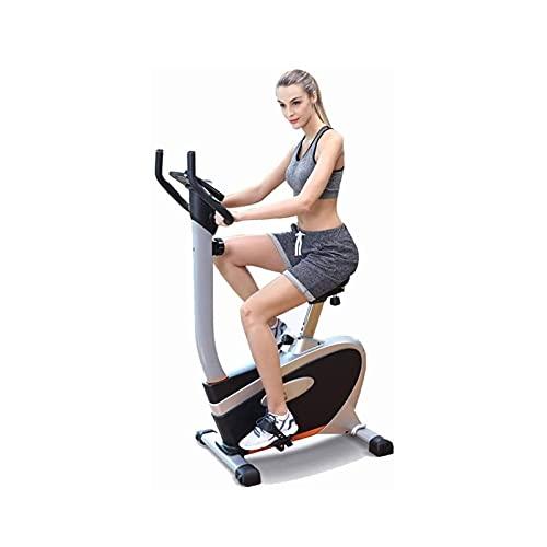 DJDLLZY Bicicleta de Ejercicio Portátil Ajustable Ultra Silencioso Control Magnético Vertical Equipamiento de Fitness Bicicleta para Hacer Deporte en Casa (Tamaño: 97,5 * 48 cm - 130,8 cm)