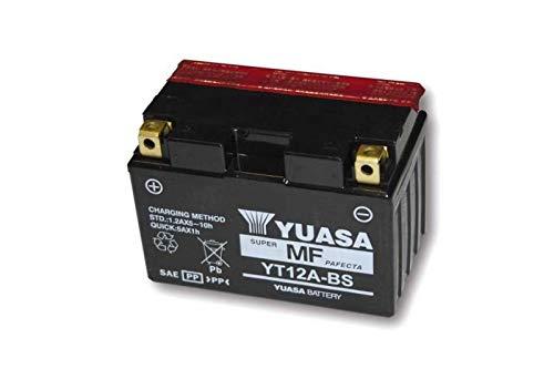 Yuasa accu YT 12A-BS onderhoudsvrij (AGM) Prijs incl. wettelijke garantie op batterijen € 7,50 incl. BTW