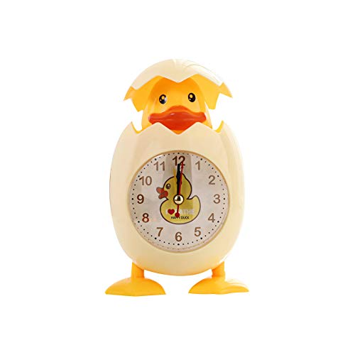 Eierschale Wecker Gelb Kurios Kinder Kinder Bedside Elektronische Uhr Egg Shell Design Uhr