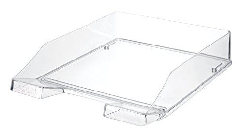 HAN 1026-X-23, Briefablage KLASSIK, 18 Stück, Modern, Schick, Transparent und Hochglänzend, 6er Packung, transparent-glasklar (18er Set | glasklar)