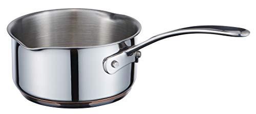 MasterChef MC 700008 Copperline 5-Plis Induction Pot à lait en acier inoxydable, cuivré