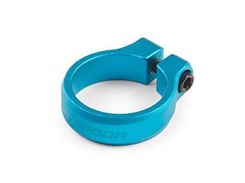 DARTMOOR Loop Bolt - Abrazadera para tija de sillín de Ciclo Mixto, Color Turquesa, tamaño 31,8mm, 0.18