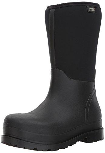 Bogs Men's Stockman Waterproof Insulated Composite Toe Work Rain Boots, Black, 11 D(M) US