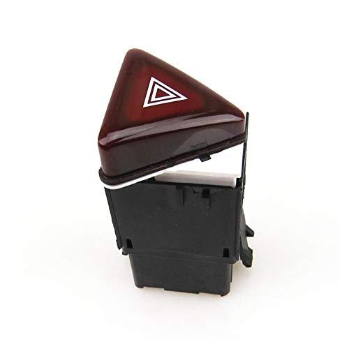 PREPP Botón de incorporador de la Advertencia de Peligro Rojo Oscuro Interruptor de Emergencia Fit para Golf 5 MK5 Rabbit 18G 953 509 18G953509