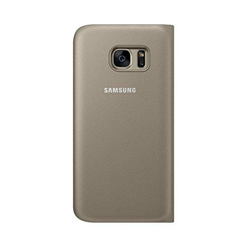Samsung Flip Wallet Schutzhülle (geeignet für Galaxy S7) gold