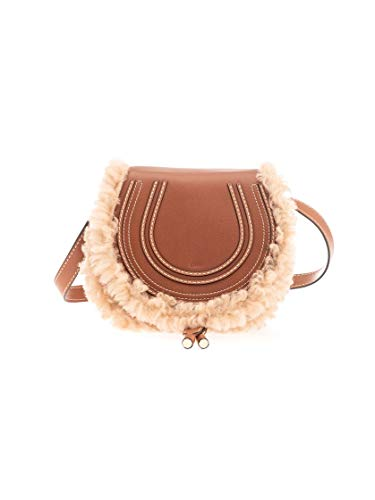 Luxury Fashion | Chloé Dames CHC20SP580C17247 Bruin Leer Schoudertassen | Lente-zomer 20