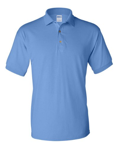 Gildan G880 5.6 Ounce DryBlend 50/50 Jersey Polo - Carolina Blue - Large