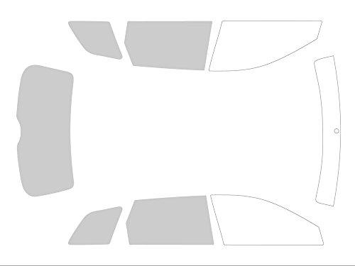 Variance Auto va_k-3-55|799|2161-2-54 Autokleurfolie set 3/4, zwart 70