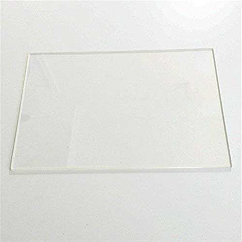 WNJ-TOOL, 1pc 3D Printer Parts 150mm X 230mm Borosilicate Glass Plate For Flashforge Creator Replicator 3D Printer 3MM Thickness