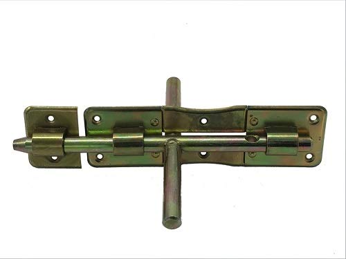 Bolzenriegel, Türriegel, Torriegel, 200/14 beidseitig, galvanisch verzinkt