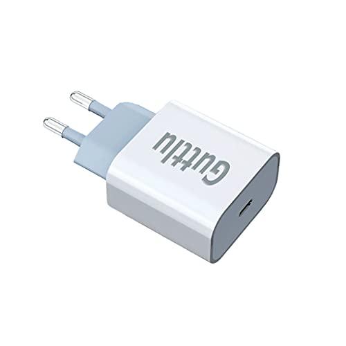 Guttlu Cargador iphone 13 Pro Max Power Delivery 3.0 Cargador USB C compatible de iPhone 12 11 Pro Max Mini XR Ipad Airpods Galaxy S21 Ultra S20 Note20 rapido enchufe charger adaptador tipo c rápida