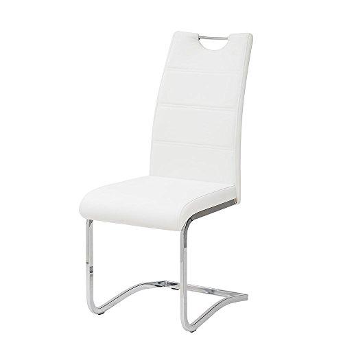 Tuoni, Idra, Sedia, Bianco, 41 x 61 x 101 cm