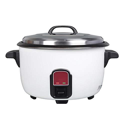 ZBINGAFF Edelstahl elektrischer Reiskocher 25L Warmhaltefunktion, von Premium-Qualität Innentopf, mit Spachtel, Reis for bis zu 50 Personen, geeignet for Hotel, Gastronomie, Schulkantine