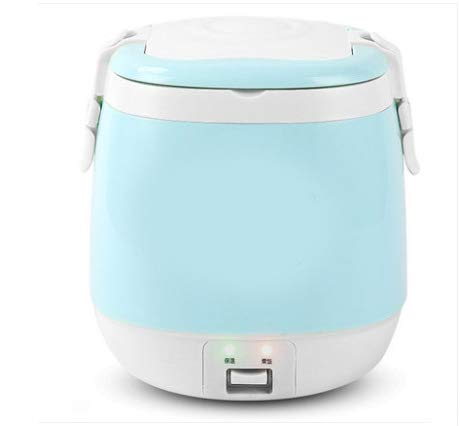 1.5L Mini Elektrische Rijstkoker, Portable Koken Steamer Multifunctionele Voedsel Container Pot Van De Soep Verwarming Lunch Box 1-3 Personen