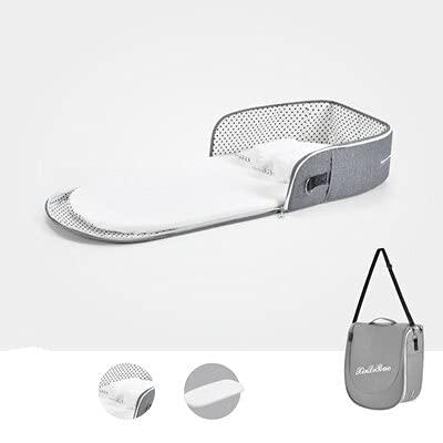 XKMY Baby Nest versión actualizada portátil cuna móvil sombreado con mosquitero biónico cama transpirable bebé cuna mochila (color : sin mosquitero)