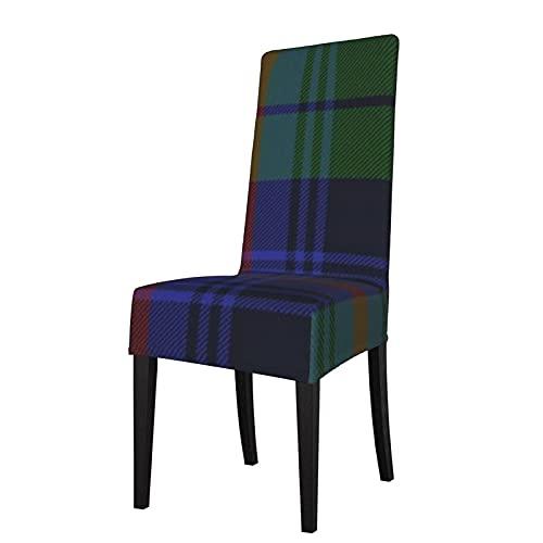 Funda de Asiento para Silla Urquhart Clan Tartan Fundas para sillas de Comedor Fundas elásticas Protector de Silla Lavable