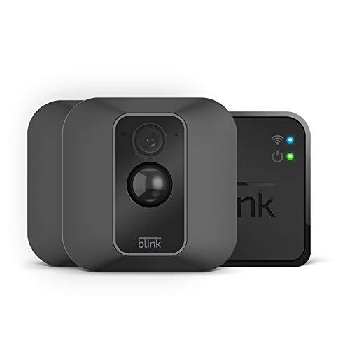Blink XT2 (Seconda Generazione) | Telecamera di sicurezza per interni/esterni con archiviazione sul cloud, audio bidirezionale, autonomia di 2 anni | Sistema a 2 telecamere
