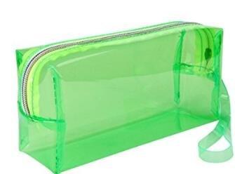 Lsv-8 Astuccio per Studenti Trasparente in plastica Trasparente di Grande capacità