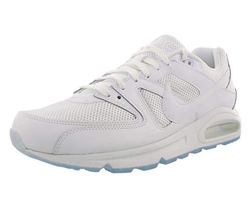 Nike Air Max Command, Scarpe da Ginnastica Basse Uomo, Bianco (White/White-White), 44 EU