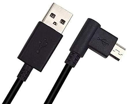 CTL471 Cavo di ricarica USB di ricambio per sincronizzazione dati compatibile con Wacom-Intuos CTL480 CTL490 CTL690 CTH480 CTH490 CTH680 CTH690 e Wacom Bamboo CTL470 CTL671 CTL680 CTH4 70 (nero)