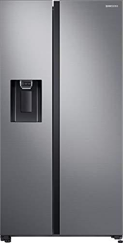 Samsung RS5000 RS64R5302M9, EG SidebySide Kühlschrank, 635 Liter, Space Max, All Around Cooling, Edelstahl Look, Metallisch