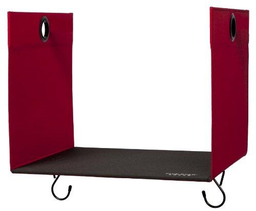 "Five Star Locker Accessories, Locker Shelf Extender, Holds up to 100 Lbs. Fits 12"" Width Lockers, Red 972238)"