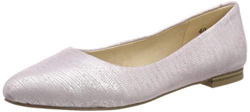 CAPRICE Damen Alisa Ballerinas, Pink (Rose Rept.Foil 517), 40 EU