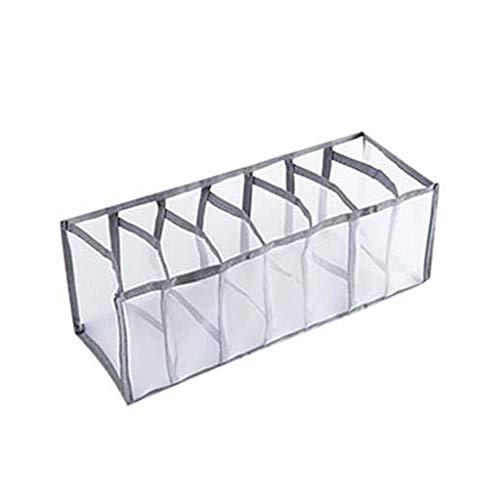 Bolsa de almacenamiento colgante Ropa interior Caja de almacenamiento Calcetines STOCKS Ropa interior Caja de almacenamiento Caja de almacenamiento Caja de cajones Divisor Divisor Organizador de ropa