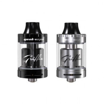 GeekVape Griffin 25 Mini RTA Verdampfer (Top Airflow Version) Farbe Silber