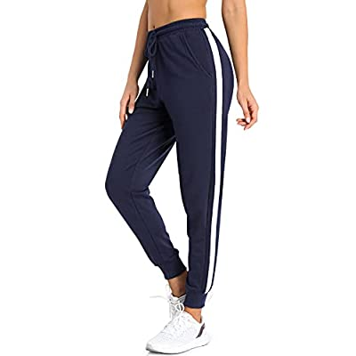 Amazon - 40% Off on Women Sweatpants Joggers for Women Lounge Pants with Pocket for Yoga Running Blue