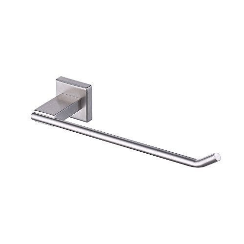 KES A2481-2 Bathroom Lavatory Towel Holder Towel Ring SUS304 Stainless Steel Wall Mount, Brushed