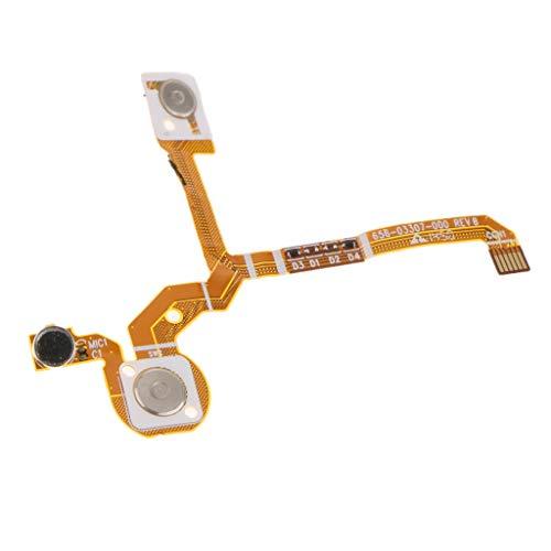 IPOTCH Botón de Obturador-Pieza WiFi/Cable Flexible de Micrófono Pieza de Repuesto para 3+