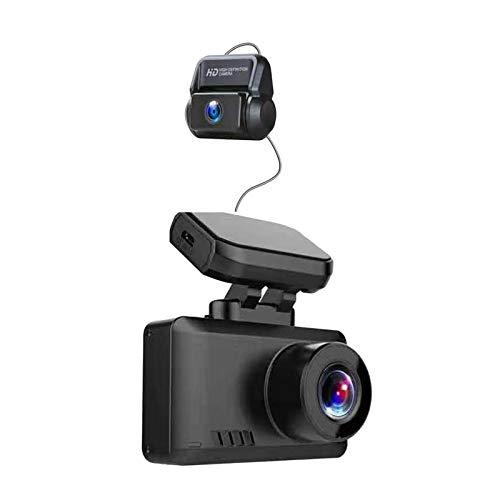 IPOTCH Cámara DVR para Coche WIFI GPS 4K + 1080P HD Visión Nocturna Dash Cam Video Recorder Visión Nocturna Monitor de Estacionamiento