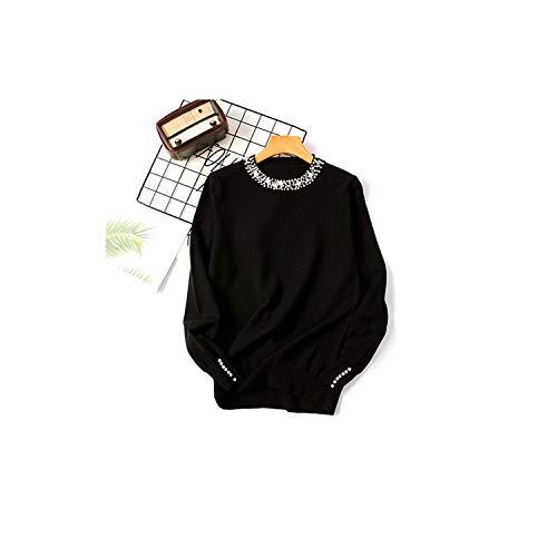 Carl Hamilton trui met lange mouwen voor vrouwen parels parels pullover jumper vrouwen pullover