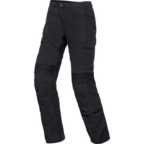 Spirit Motors Motorrad Jeans Motorradhose Motorradjeans Damen Cargo Hose 1.0 schwarz 36/30, Chopper/Cruiser, Sommer, Textil