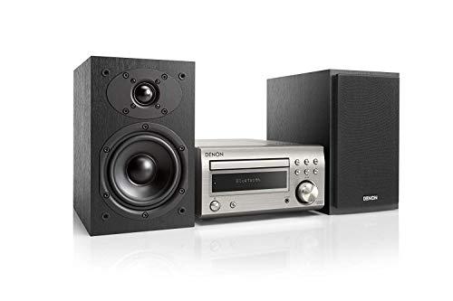 Denon D-M41 Home audio midi system 60W Negro Microcadena (Home audio midi system, Negro, 60 W, De 2 vías, 12 cm, 2,5 cm)
