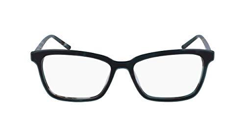 Armação para óculos de grau feminino DKNY DK5024 315, Teal Tortoise, 5315