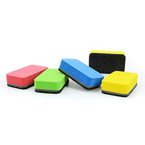 LYDQ Whiteboard-Schwämme, magnetische Scheibenwischer mit starken Magneten, entfernt trockene Reinigung von Whiteboards, Notiztafeln, Flip-Charts, Vitrinen, magnetische Whiteboard-Wischer