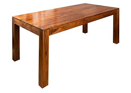 MASSIVMOEBEL24.DE Akazie Massivmöbel Esstisch 120x90 Honig Holz massiv Möbel Oxford #33