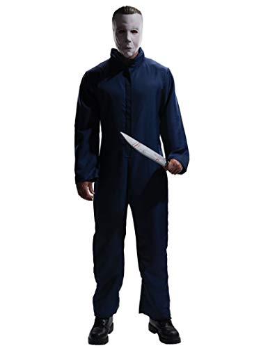 Disfraz Oficial de Michael Myers con máscara de la película Halloween, tamañoXL, de Rubie'S
