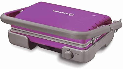 Korkmaz Tostella Toast Grill Toaster Sandwichmaker Kontaktgrill Violet A316-09