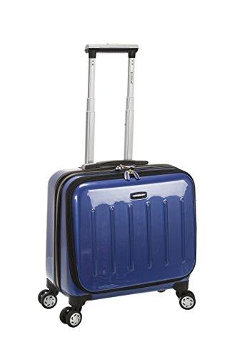 Rockland Revolution Hardside Rolling Computer Case, Blue, Carry-On 17-Inch
